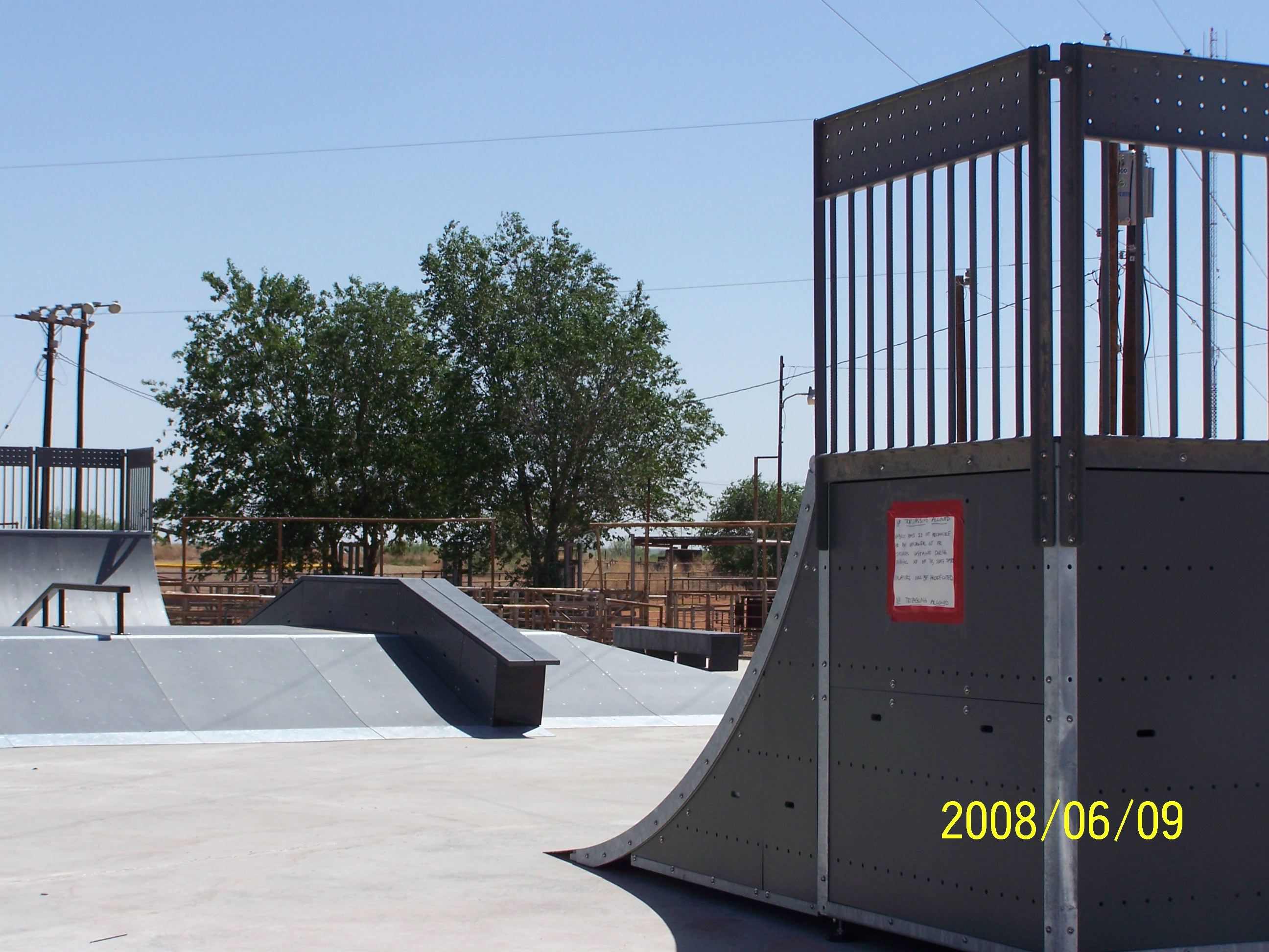 Skate Park Ramps and Facility